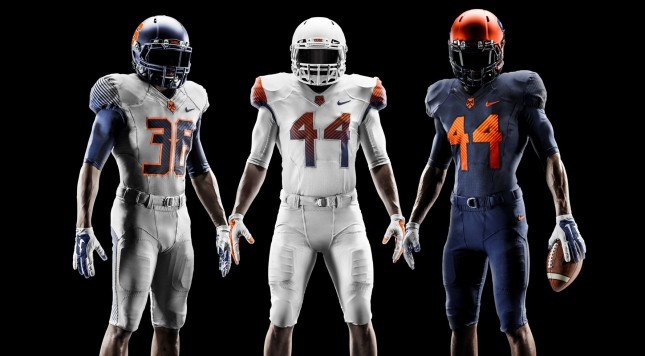 2014 Syracuse Uniforms