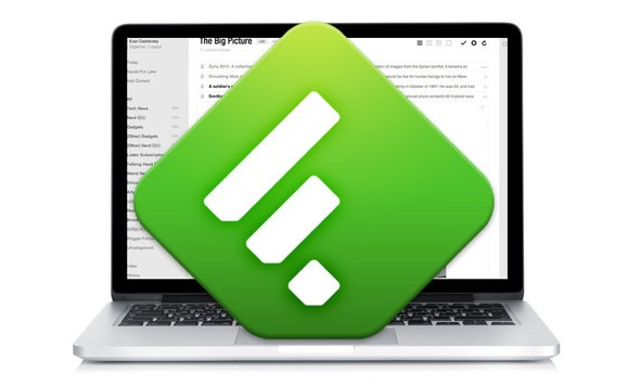 Feedly Laptop
