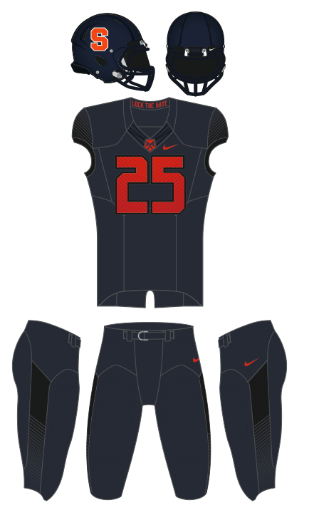 2014 Syracsuse home uniform