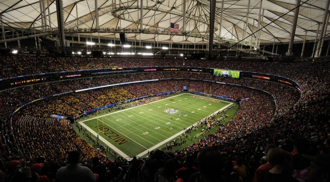 2013 SEC Championship Game. Photo: USA Today Sports