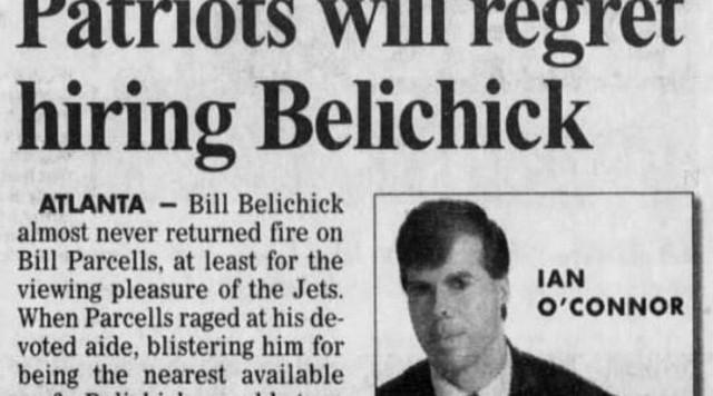 Ian O'Connor's take on Bill Belichick