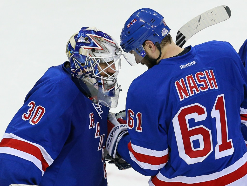 NHL: Buffalo Sabres at New York Rangers