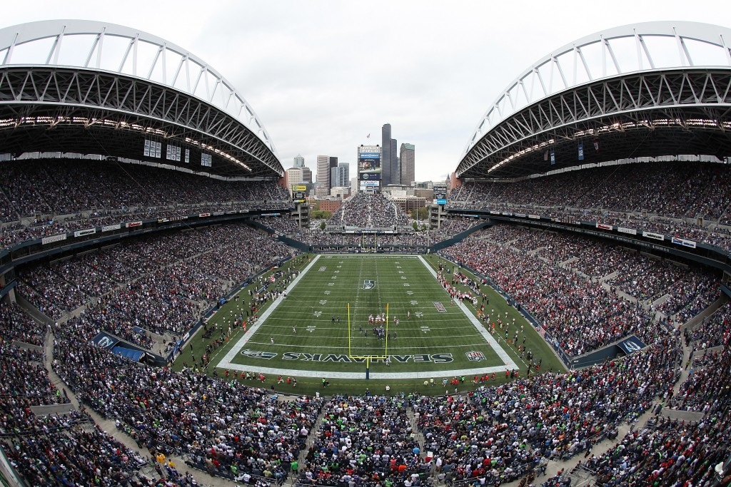 SEATTLE - SEPTEMBER 12:  A general view of the stadium during the NFL season opener between the Seattle Seahawks and the San Francisco 49ers at Qwest Field on September 12, 2010 in Seattle, Washington. The Seahawks defeated the 49ers 31-6. (Photo by Otto Greule Jr/Getty Images)