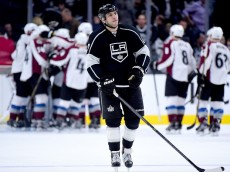 LOS ANGELES, CA - JANUARY 27:  Milan Lucic #17 of the Los Angeles Kings reacts to a 4-3 loss to the Colorado Avalanche at Staples Center on January 27, 2016 in Los Angeles, California.  (Photo by Harry How/Getty Images)