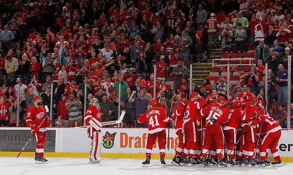 DETROIT, MI - MARCH 12:   at Joe Louis Arena on March 12, 2016 in Detroit, Michigan. (Photo by Gregory Shamus/Getty Images) *** Local Caption ***