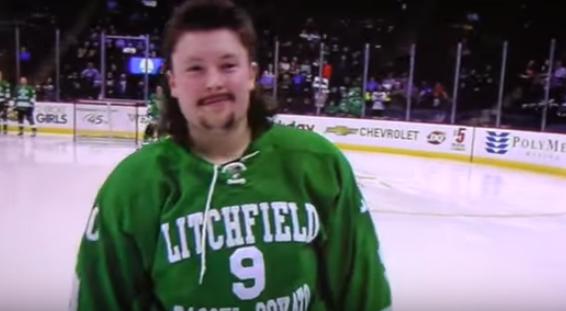 Minnesota All Hockey Hair team