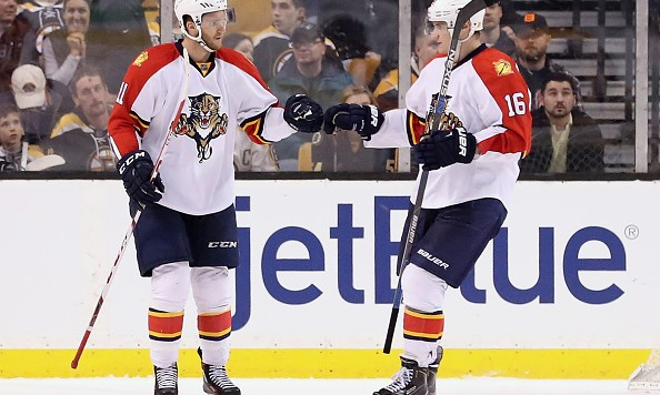 Panthers sign Jonathan Huberdeau to extension