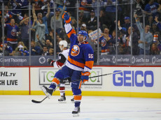 skates against the New York Islanders at the Barclays Center on October 21, 2016 in the Brooklyn borough of New York City.
