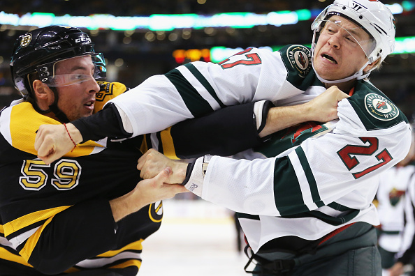The 5 best hockey fights from week 3 in the nhl puck drunk love