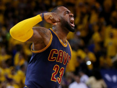 during Game Two of the 2015 NBA Finals at ORACLE Arena on June 7, 2015 in Oakland, California. NOTE TO USER: User expressly acknowledges and agrees that, by downloading and or using this photograph, user is consenting to the terms and conditions of Getty Images License Agreement.