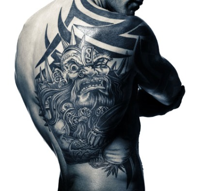 the six most badass tattoos in boxing featuring manny pacquiao mikkel kessler and michael. Black Bedroom Furniture Sets. Home Design Ideas