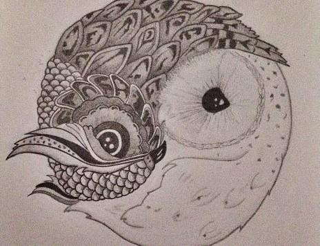 Owl Yin Yang