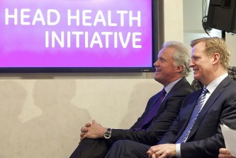 GE CEO And NFL Commissioner Goodell Announce Initiative To Study Concussions