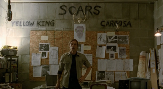 Rust Cohle's bat cave from 'True Detective.' (HBO)