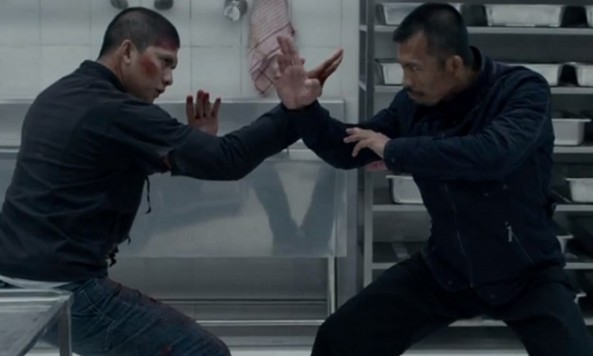 Iko Uwais and Cecep Arif Rahman in 'The Raid 2.' (Sony Pictures Classics)