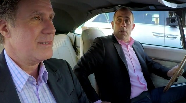 comedians in cars recap jerry seinfeld visits will ferrell s world the ap party. Black Bedroom Furniture Sets. Home Design Ideas