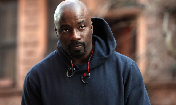 "NEW YORK, NY - DECEMBER 02:  Mike Colter filming ""Marvel / Netflix's ""Luke Cage"" on December 2, 2015 in New York City.  (Photo by Steve Sands/GC Images)"