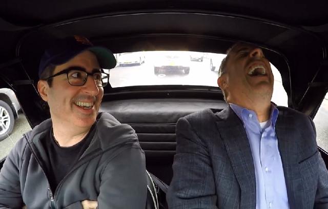 comedians in cars recap john oliver almost made it. Black Bedroom Furniture Sets. Home Design Ideas