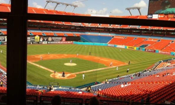 Standing Room Only Crowd Packs Marlins Home Games Or Not