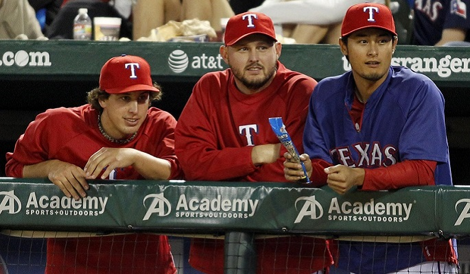 The two biggest weaknesses of the Texas Rangers