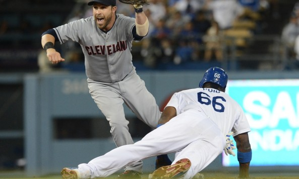 Cleveland turns triple play
