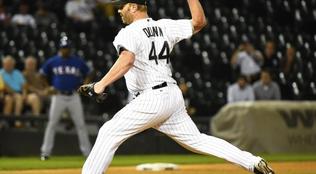 Adam Dunn pitching