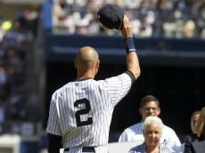 Derek Jeter of the Yankees