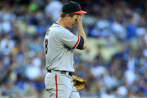 Bad contract Matt Cain