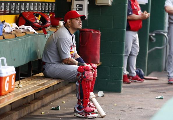Cardinals catcher Yadier Molina