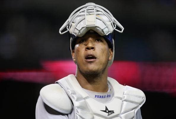 Royals catcher Sal Perez