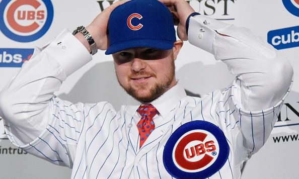 Cubs signing Jon Lester