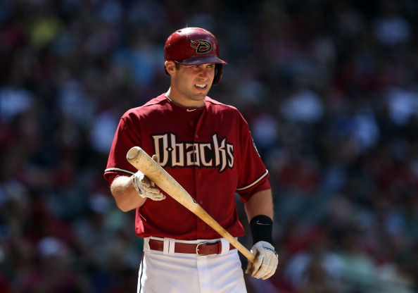 PHOENIX, AZ - APRIL 27:  Paul Goldschmidt #44 of the Arizona Diamondbacks bats against the Philadelphia Phillies during the MLB game at Chase Field on April 27, 2014 in Phoenix, Arizona.  The Phillies defeating the Diamondbacks 2-0.  (Photo by Christian Petersen/Getty Images)