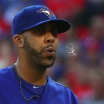 ARLINGTON, TX - OCTOBER 12: David Price #14 of the Toronto Blue Jays walks off the mound at the end of the seventh inning against the Texas Rangers in game four of the American League Division Series at Globe Life Park in Arlington on October 12, 2015 in Arlington, Texas. (Photo by Tom Pennington/Getty Images)