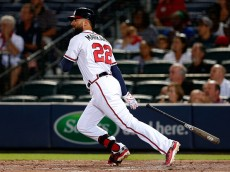 Nick Markakis of the rebuilding Braves