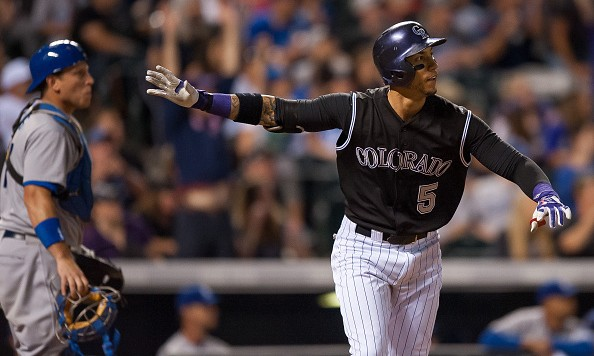 Carlos Gonzalez of the rebuilding Rockies