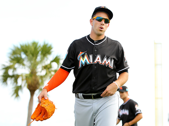MIAMI, FL - FEBRUARY 22: Pitcher Jose Fernandez #16 during a Miami Marlins workout on February 22, 2016 in Jupiter, Florida. (Photo by Rob Foldy/Getty Images)