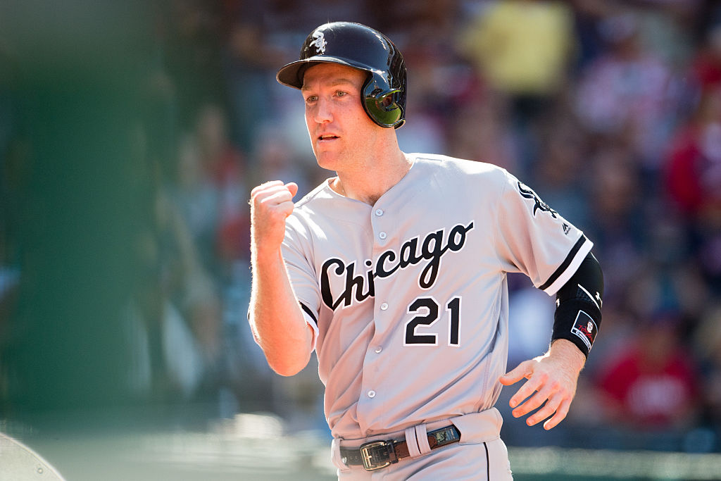CLEVELAND, OH - SEPTEMBER 25: Todd Frazier #21 of the Chicago White Sox celebrates after scoring during the fifth inning against the Cleveland Indians at Progressive Field on September 25, 2016 in Cleveland, Ohio. (Photo by Jason Miller/Getty Images)