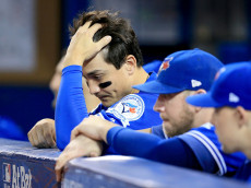 during game five of the American League Championship Series at Rogers Centre on October 19, 2016 in Toronto, Canada.