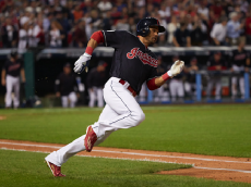 Baseball: World Series: Cleveland Indians Coco Crisp (4) in action, running bases vs Chicago Cubs at Progressive Field. Game 7. Cleveland, OH 11/2/2016 CREDIT: David E. Klutho (Photo by David E. Klutho /Sports Illustrated/Getty Images)