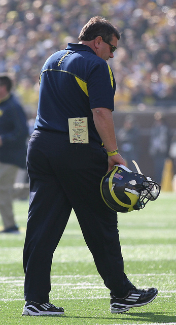 Despite dogged questions from hungry media looking for a reaction, Brady Hoke will keep on trucking in Ann Arbor.
