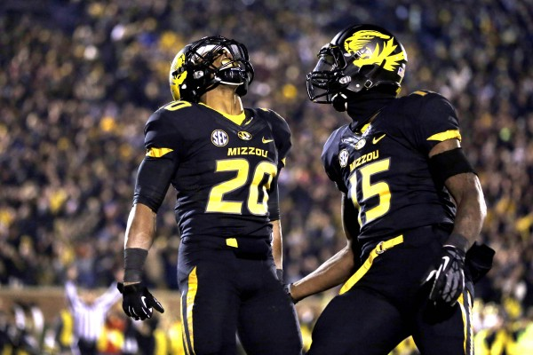 Missouri had a lot to shout about last season, but with Dorial Green-Beckham (pictured, right) no longer in the picture -- so to speak, of course -- the Tigers face an uphill climb in 2014.