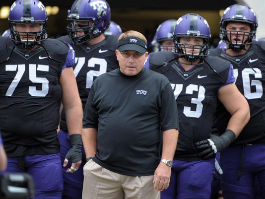After not catching a break in 2013, Gary Patterson's team will challenge for Big 12 supremacy this fall. ( (Photo: Kirby Lee, USA TODAY Sports)