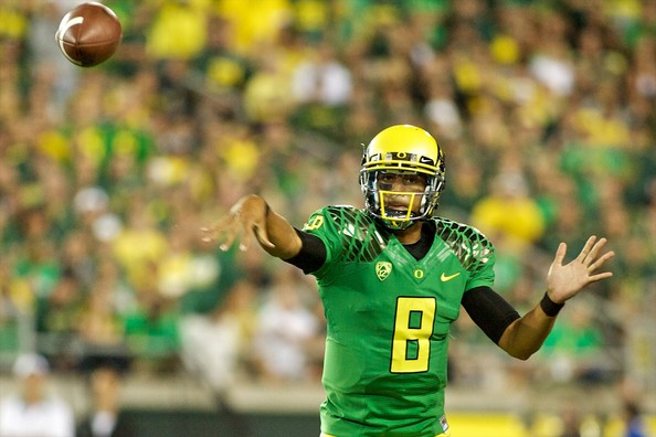 The hard part for Oregon will be to make the College Football Playoff. However, if the Ducks do crack the top four, they know that if they can win their semifinal, they would enter the national championship game with the rhythm and flow they lacked in the 2011 BCS National Championship Game against Auburn. That's going to be one of the main differences between the College Football Playoff and the BCS: The teams in the national title game will now be roughly one week removed from a game, instead of entering the field following a one-month layoff. Oregon is precisely the kind of team that stands to benefit from such an arrangement... but only if it can first put itself in position to make use of it.