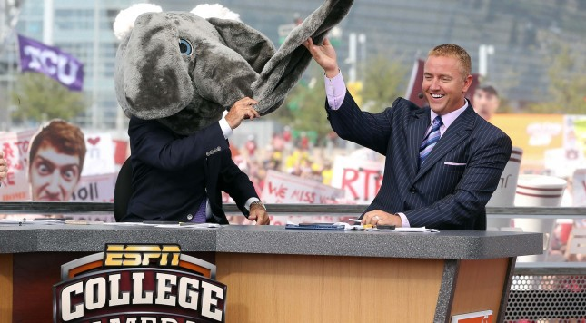 Lee Corso and Kirk Herbstreit