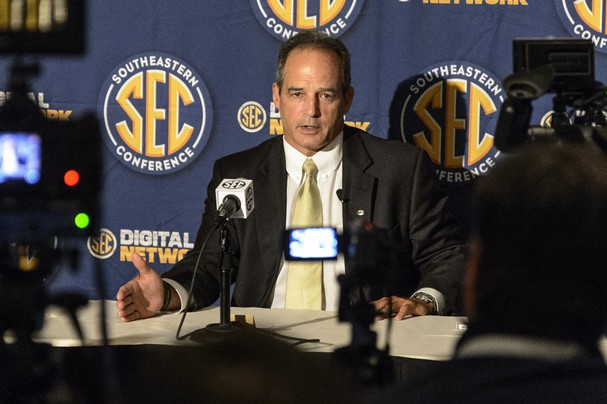 Gary Pinkel at 2014 SEC Media Days