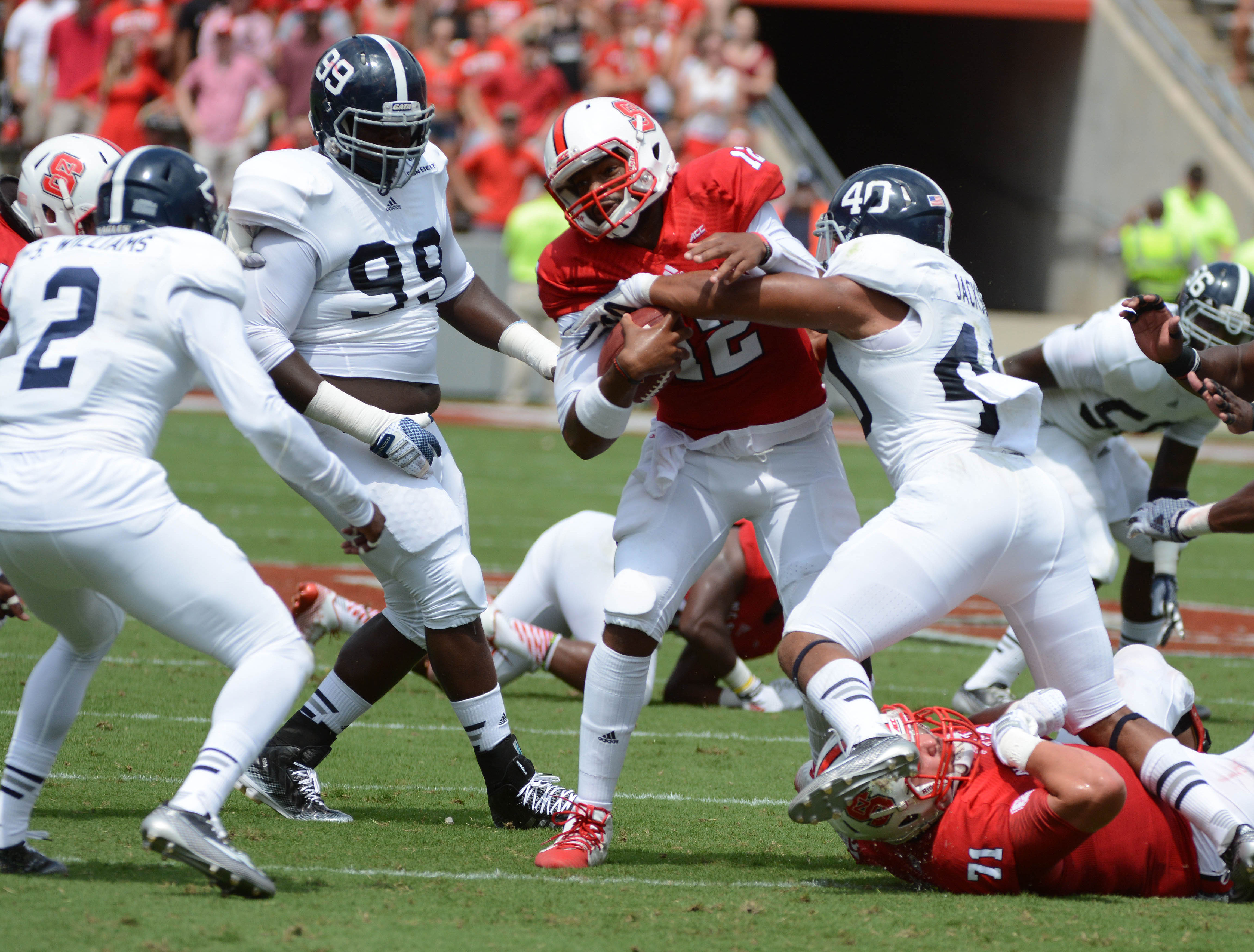 NCAA Football: Georgia Southern at North Carolina State
