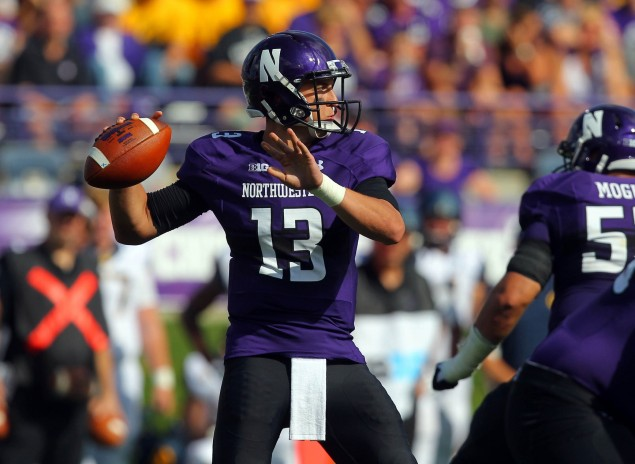 Trevor Siemian has plenty of experience as Northwestern's quarterback, having filled in many times for Kain Colter in the recent past. The inability of Siemian to lead the Wildcats' offense with distinction against a less-than-imposing California defense on Saturday afternoon is a troubling sign for Northwestern in 2014.