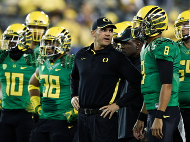Mark Helfrich lost his team -- or at least, he couldn't win it over -- after the loss to Stanford last November. This season, his last with Marcus Mariota, is Helfrich's big chance to show the nation that  he's the right successor to Chip Kelly.