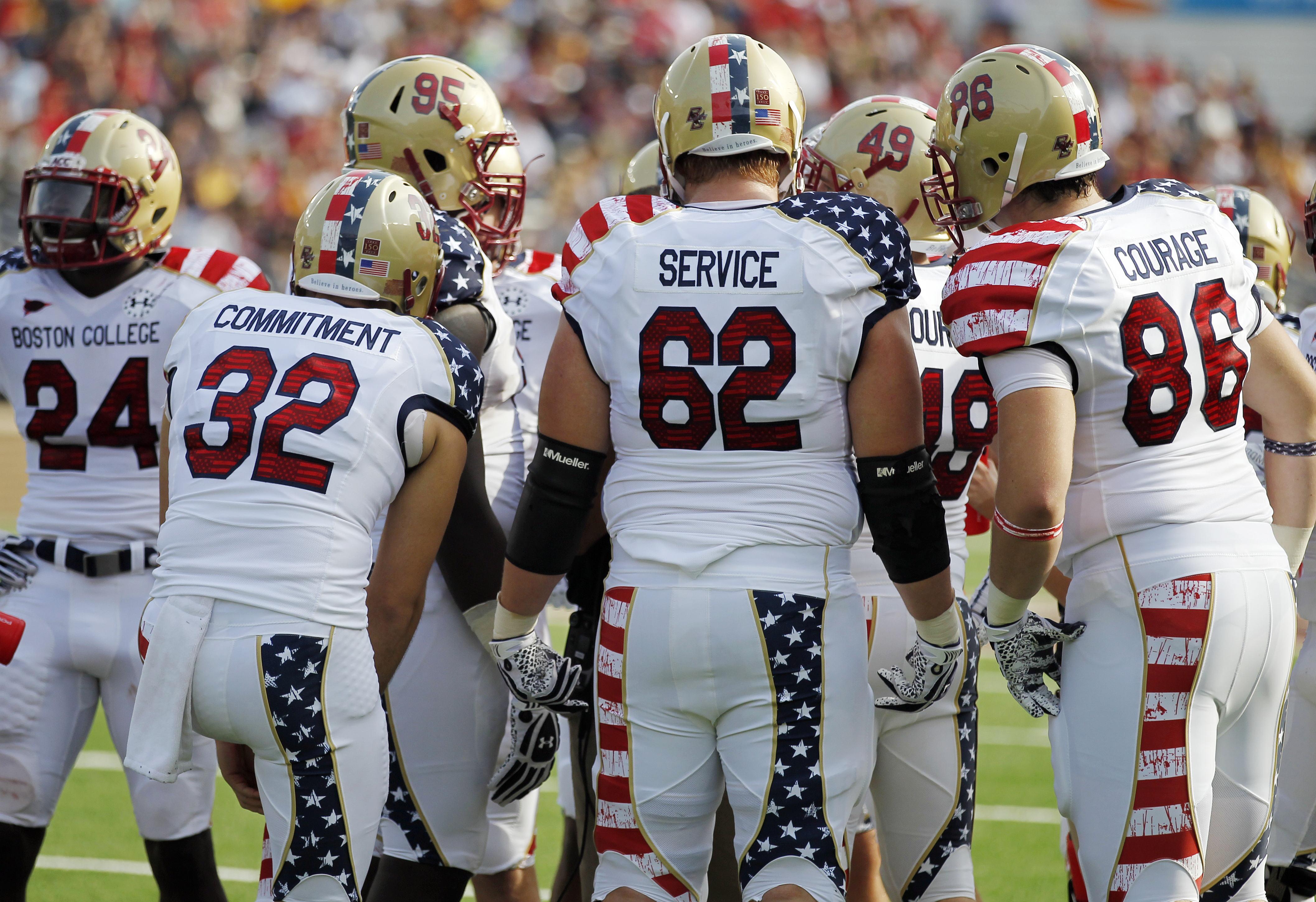 patriotic football jersey