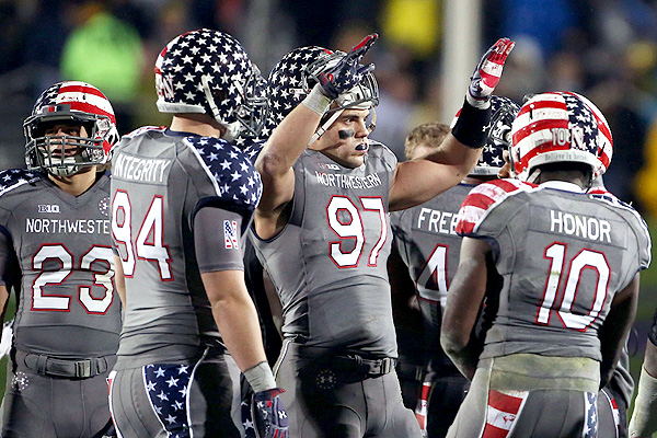 Northwestern patriotic uniform 2013